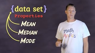 math antics   mean median and mode