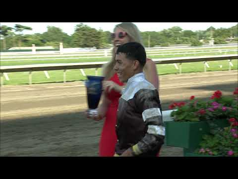 video thumbnail for MONMOUTH PARK 6-22-19 RACE 12 – THE LADYS SECRET STAKES
