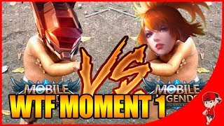 WTF MOMENT MOBILE LEGENDS #1 SABER VS FANNY