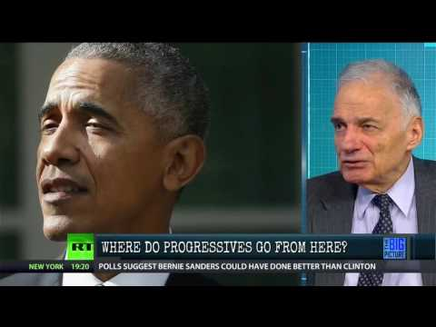"Ralph Nader, ""Democrats Have Lost Their Identity"""