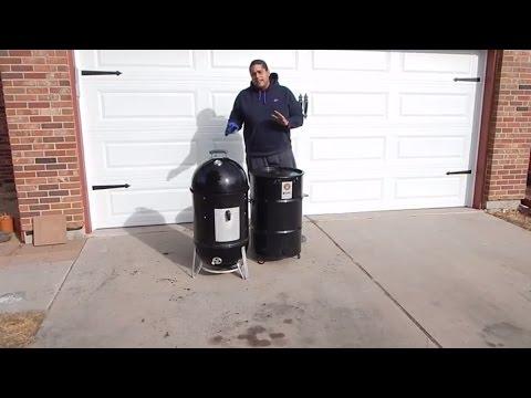 Weber Smokey Mountain VS.  Pit Barrel Cooker - BBQ Smoker Comparison
