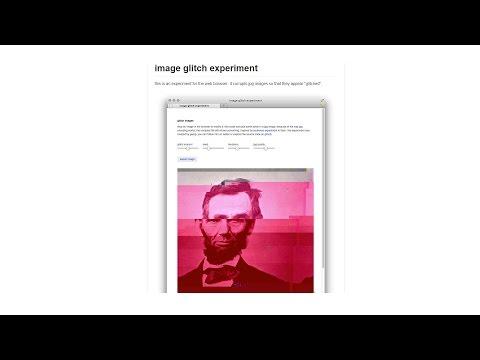 Writing a glitch art algorithm - Python
