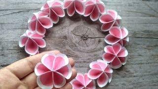 Квіти з паперу своїми руками  #DIY