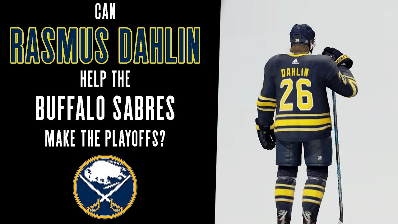 timeless design 06b51 6d580 Can Rasmus Dahlin Help The Buffalo Sabres Make The Playoffs? | NHL 18  Franchise Mode