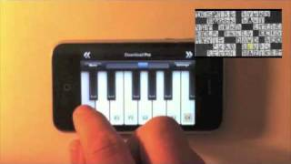 Crossword Puzzle as Musical Notation
