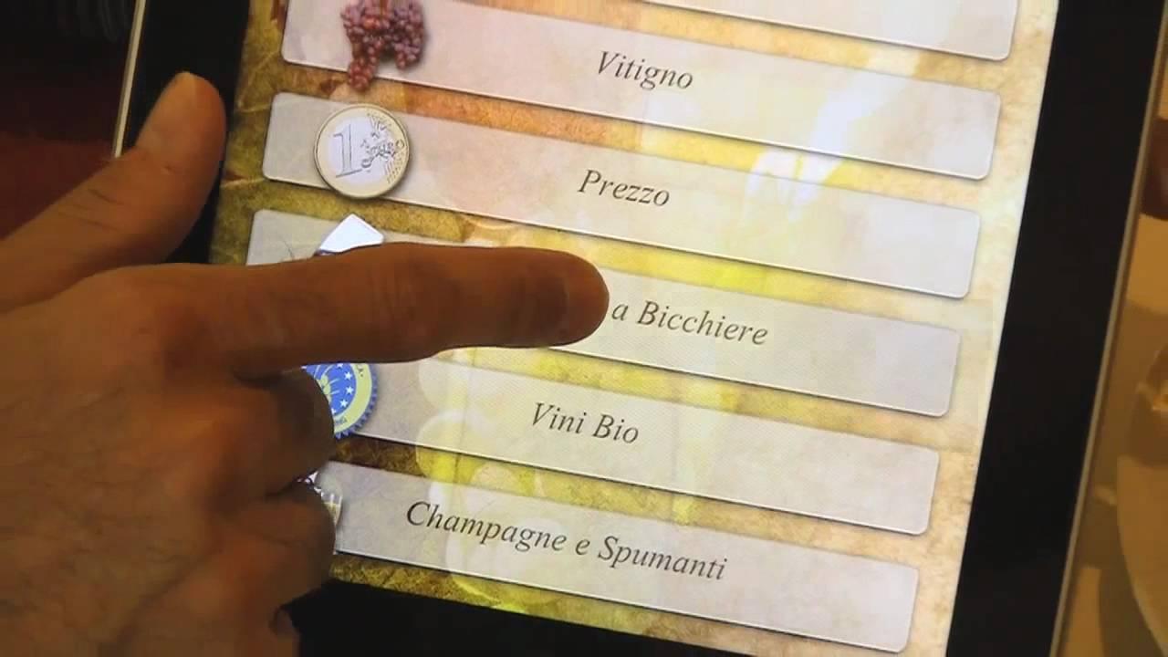 La Credenza Carta Dei Vini : Ristorante la credenza e novità carta vini su ipad u san maurizio