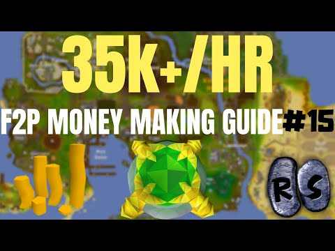 F2P Money Making Guide! Mining Gold Ore! EP15! (OSRS)