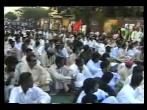 Baloch People shouting pro freedom slogans