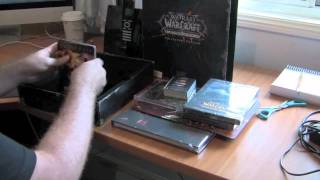 Unboxing World of Warcraft Cataclysm Collectors Edition