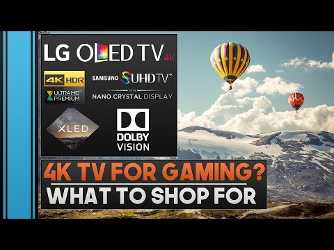 Introduction to 4K TVs for Gaming: What To Look For