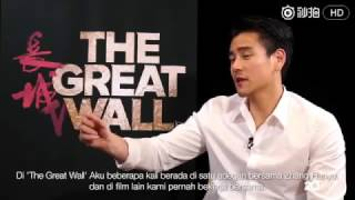 Interview Eddie Peng 'The Great Wall' in English.