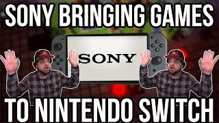 SONY is Bringing Games to Nintendo Switch?! | RGT 85
