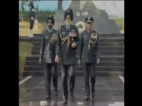 Marshal of the air force Arjan singh, DFC