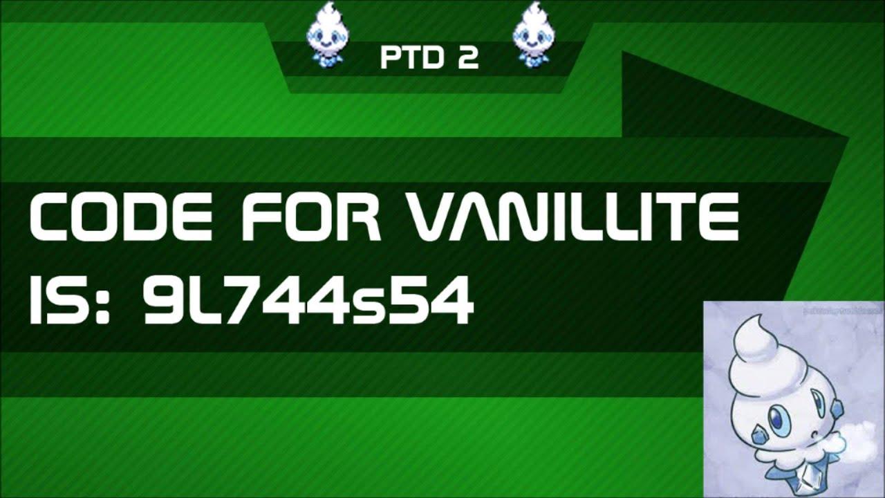 Pokemon Tower Defense 2: Mystery Gift Code For Vanillite - PTD 2 v1.23 - YouTube