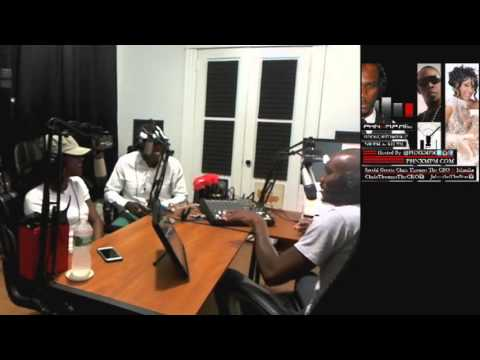 Chris The CEO Thomas & Jahmika Interview (Producer and Artist - IWAAD Nation)