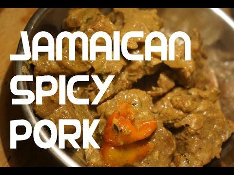 Spicy Jamaican Pork recipe video