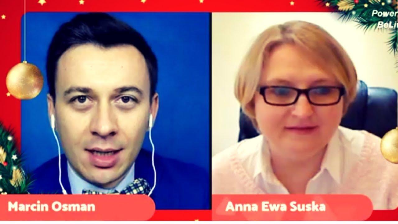 Anna Ewa Suska przepytała mnie z biznesu i wydawania książek! :)