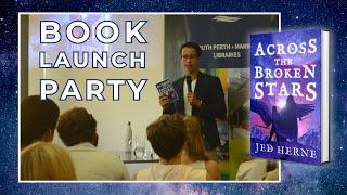 Across the Broken Stars - Book Launch Party