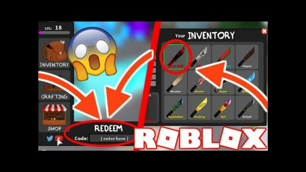 roblox mm2 codes 2019 list
