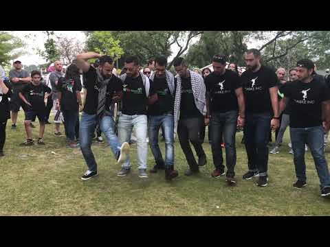 Dabke at Run for Palestine Toronto (part 2)