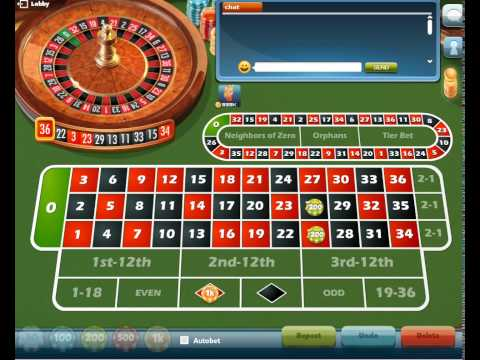 Video Play roulette online free no limit
