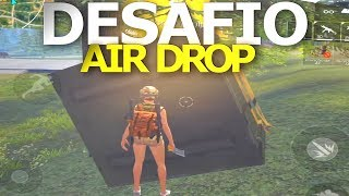 DESAFIO: SÓ VALE ARMA DO AIRDROP - FREE FIRE BATTLEGROUNDS