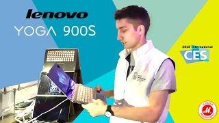 CES 2016. Многорежимный ноутбук Lenovo YOGA 900S(Эксклюзивный обзор Lenovo YOGA 900S с выставки International Consumer Electronics Show (CES) в Лас-Вегасе Ещё больше моделей по ссылке:..., 2016-01-09T13:45:53.000Z)
