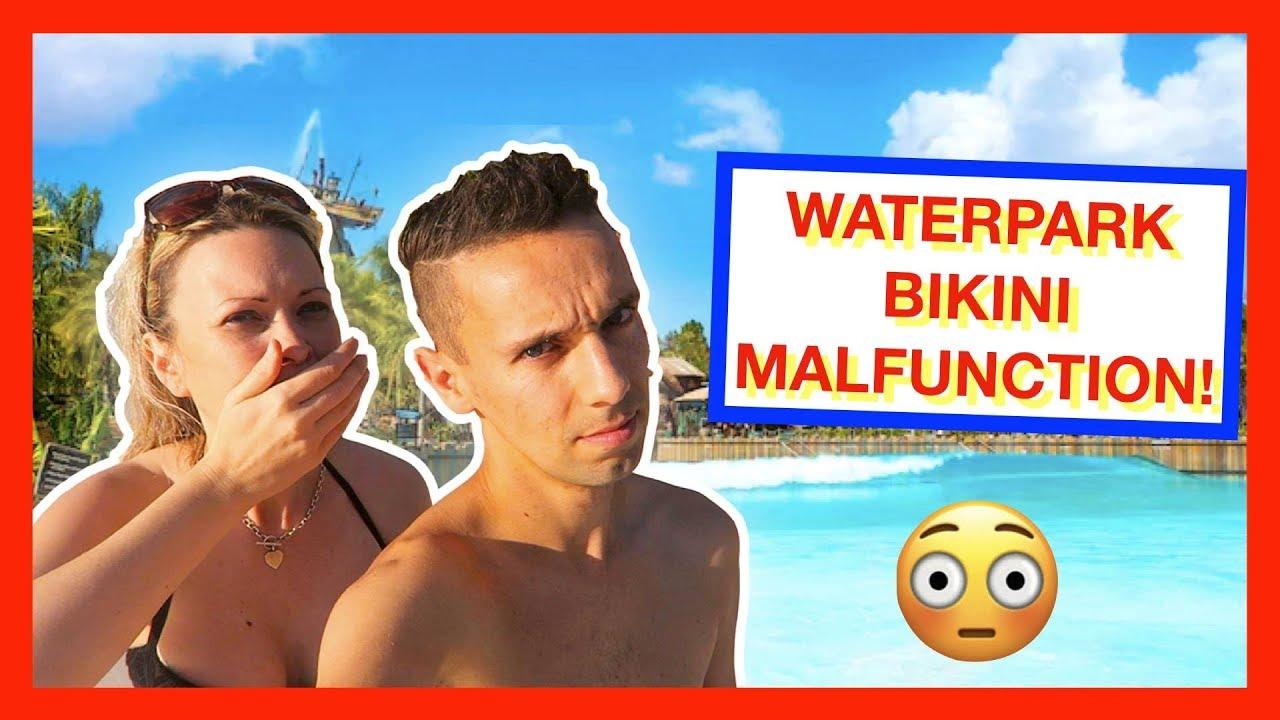 Water Park Bikini Malfunction