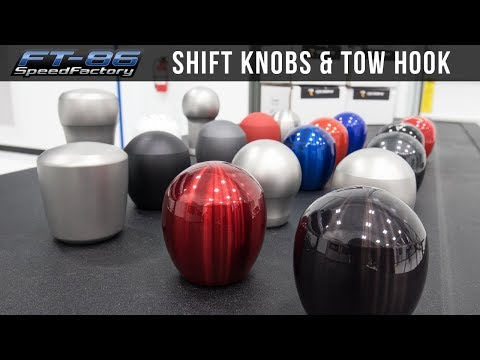 Raceseng Shift Knobs and Tow Hook - FT86SpeedFactory