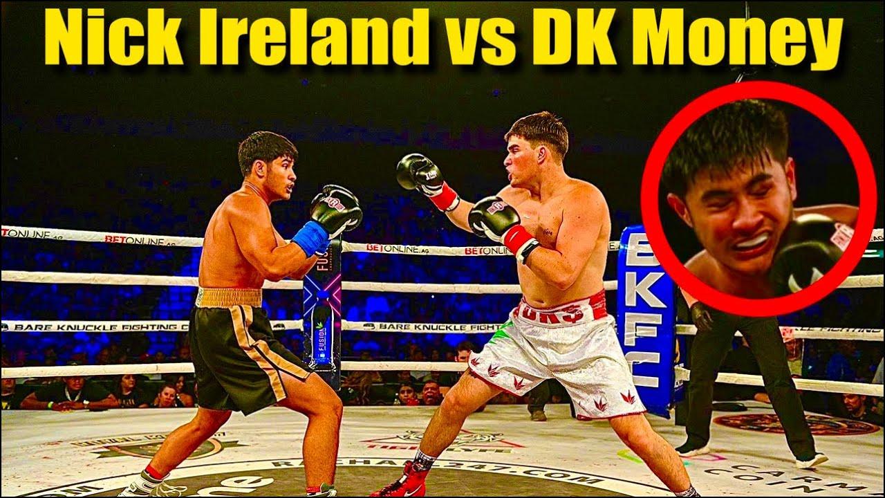 my boxing experience VS NICK IRELAND ( dk money vs nick ireland)