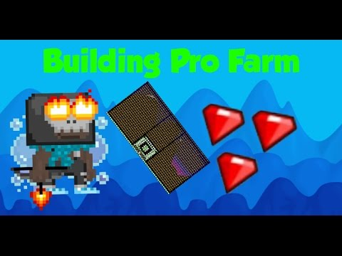 Growtopia - Building Pro Farm World!