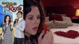Qué pobres tan ricos: ¡Nepo se lleva a Lupita a un hotel! | Escena - C 46