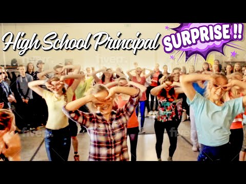High School Principal Surprises her Students