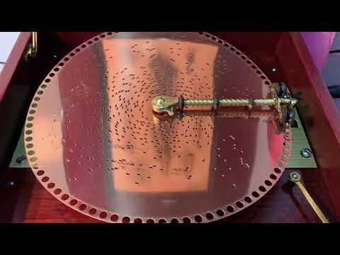 Regina music box 12 inch disc