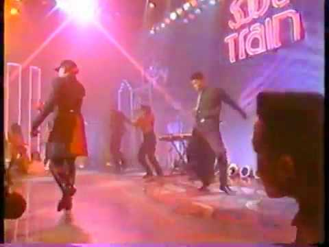 Soul Train 91' - MC Trouble with Terrell Ferguson!