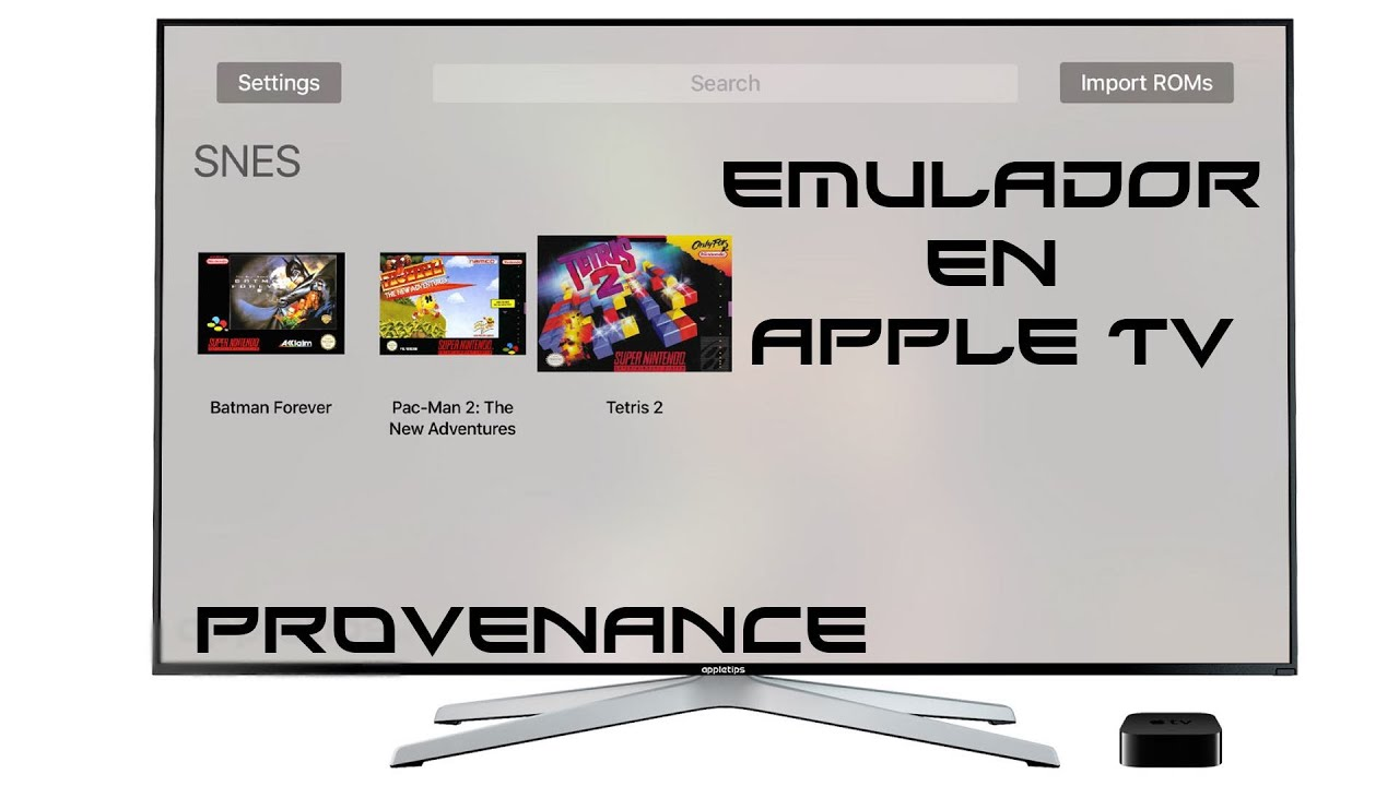 Provenance Apple Tv 4