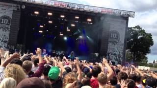 Indianer - Marsimoto Live @HipHop Open 2012 Stuttgart