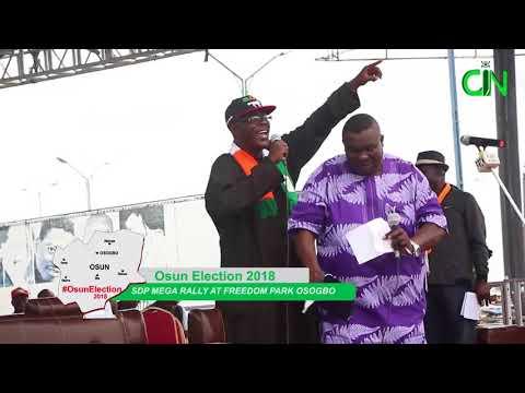 SDP MEGA RALLY, OSOGBO, OSUN STATE thumbnail