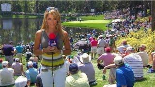 Regañan a Inés Sainz por su Vestimenta en el Masters de Golf