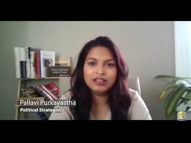 Vision of Asia - Community News   Pallavi Purkayastha Addresses Elections 2020   Wed Oct 21