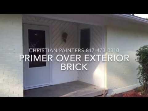 Loxon Concrete Masonry Primer Sealer Over Exterior Brick