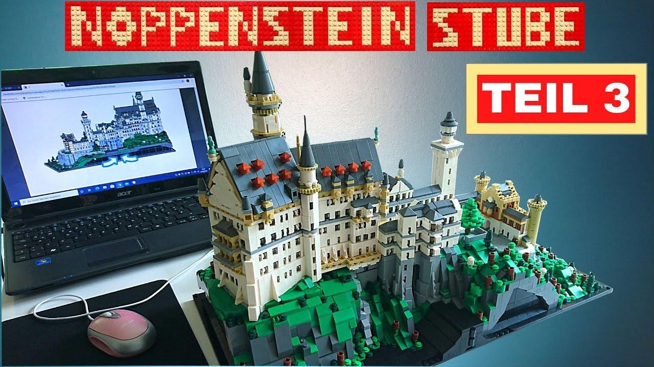 Bluebrixx Schloss Neuschwanstein Aufbau Teil 3 Und Noch Immer Kein Ende In Sicht Youtube