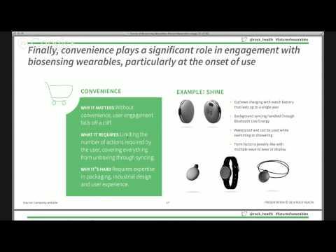The Future of Biosensing Wearables #futureofwearables