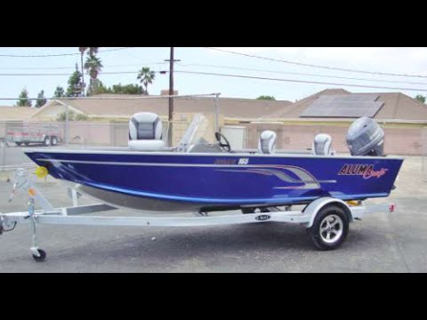 Alumacraft Escape 165 with 50 HP Yamaha 2016 Model Year