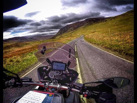 Scotland by BMW R1200GS Part 6 - Glenlivet to Livingston