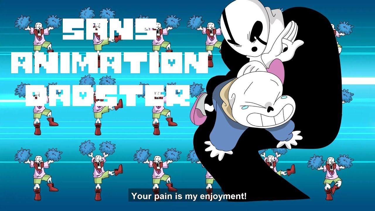 Sans and Daster【 Undertale Animated Series - Funny Animation 】