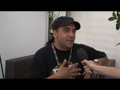 Interview de Ramón Giménez (Ojos de Brujo) - 1ère partie - Festi'neuch 2010
