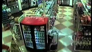 MOB ROBBERY CAUGHT ON TAPE!