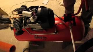 Ремонт воздушного компрессора fubag vdc 100cm3(Ремонт воздушного компрессора fubag vdc 100cm3. не заводится компрессор fubag. Рассматриваем одну из причин., 2015-11-05T21:05:56.000Z)