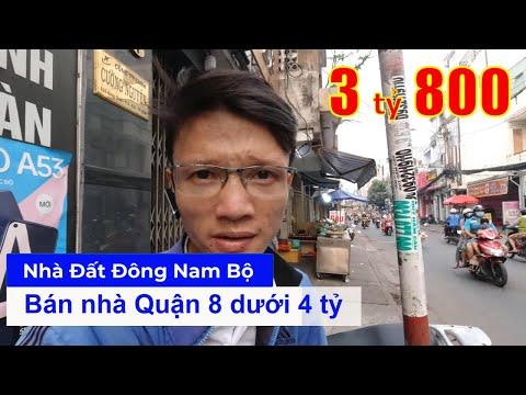Chính chủ Bán nhà Quận 8 dưới 4 tỷ, hẻm 125 Nguyễn Thị Tần P2 Q8, gần chợ Rạch Ông